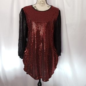 Sequined Tunic/Dress